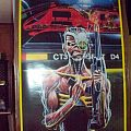 Other Collectable - Iron Maiden Somewhere In Time DOOR POSTER