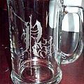PEST glass mug
