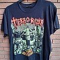 "Terrorizer - TShirt or Longsleeve - Terrorizer ""World downfall"" original 1990 Earache t-shirt !!"