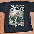 """Vader - TShirt or Longsleeve - Vader """"Future of the past"""" ORIGINAL t-shirt, size XL, year 1997 !!!"""