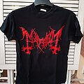 "Mayhem - TShirt or Longsleeve - MAYHEM ""Red logo / Pure Norwegian BM"" t-shirt size S -with misprinting-"