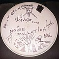 Voivod - Other Collectable - Voivod Away drum head signed & sketched 2003