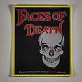 Faces Of Death - Patch - Faces of Death woven patch