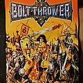 Bolt Thrower - Patch - Bolt thrower warmaster back patch.