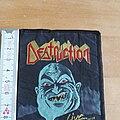 Destruction - Patch - Destruction: Live without sense, Mad butcher, Patch, 90s, used