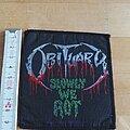 Obituary - Patch - Obituary: Slowly we rot Patch, Aufnäher, 90s