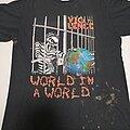 Vio-Lence - TShirt or Longsleeve - World in a world 1990 Vio-lence shirt  SOLD