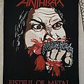 Anthrax - Patch - Fistful of Metal Back Patch