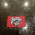 Pantera - Patch - Pantera Power Metal logo Patch (RED BORDER)