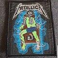 Metallica - Patch - Ride the Lightening Woven