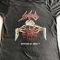 Sodom Obsessed by Cruelty US vintage shirt 87