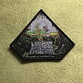 "Undeath - Patch - UNDEATH ""lesions"" official black border pull the plug patches patch"