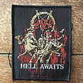 Slayer - Patch - Slayer Hell Awaits woven patch (2009)