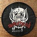Motörhead - Patch - Motorhead woven round patch (2004)