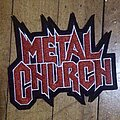 Metal Church - Patch - Metal Church logo patch
