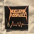 Nuclear Assault - Pin / Badge - 80s Nuclear Assault pin
