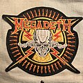 Megadeth - Patch - Megadeth embroidered patch