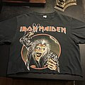 Iron Maiden - TShirt or Longsleeve - Iron Maiden Eddie cropped tee