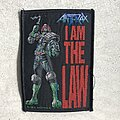 Anthrax - Patch - Anthrax I Am the Law woven patch (2014)