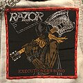 Razor - Patch - Executioner's Song woven patch