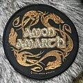 Amon Amarth - Patch - Amon Amarth woven round patch (2006)