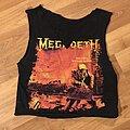 Megadeth - TShirt or Longsleeve - Megadeth Peace Sells cropped sleeveless tee
