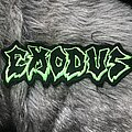 Exodus - Patch - Exodus logo patch - lime green/black