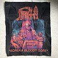 Death - Patch - Scream Bloody Gore woven backpatch (2011)