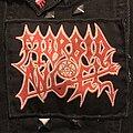 Morbid Angel - Patch - Vintage Morbid Angel logo patch