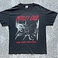 Mötley Crüe - TShirt or Longsleeve - Motley Crue - Too Fast For Love