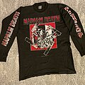 Napalm Death - TShirt or Longsleeve - Napalm Death - Nazi Punks Fuck Off (European Tour 94)