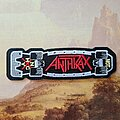 Anthrax - Patch - ANTHRAX Skateboard Patch