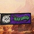 Black Sabbath - Patch - Black Sabbath Mini Strip