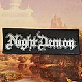 Night Demon - Patch - Superstrip