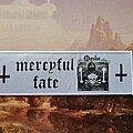 Mercyful Fate - Patch - Mercyful Fate Die schwarze Maske Superstrip