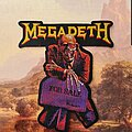 Megadeth - Patch - Megadeth Laser Cut Patch