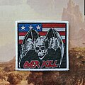 Overkill - Patch - Overkill US Flag Patch