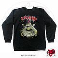 "Tankard - TShirt or Longsleeve - 90s Tankard - ""Fat, Ugly And Live"" Crewneck Shirt"