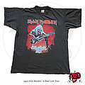 """Iron Maiden - TShirt or Longsleeve - ©1993 Iron Maiden -  """"A Real Live One"""" Shirt V1"""
