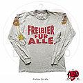 """Tankard - TShirt or Longsleeve - ©1992 Tankard - """"Freibier Für Alle"""" Longsleeve Shirt"""