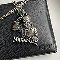 Megadeth - Pin / Badge - ©1991 Megadeth - Rust In Peace Official Alchemy POKER Pendant