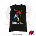 "Running Wild - TShirt or Longsleeve - ©1987 Running Wild - ""Under Jolly Roger"" Muscle Shirt MINT"