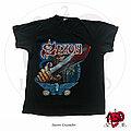 "Saxon - TShirt or Longsleeve - ©1980 Saxon - ""Crusader"" Shirt"