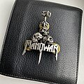 Manowar - Pin / Badge - ©1992 Manowar - Official Alchemy POKER Pin