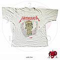 "Metallica - TShirt or Longsleeve - ©1989 Metallica - ""One"" White Shirt"