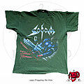 "Sodom - TShirt or Longsleeve - ©1992 Sodom - ""Tapping The Vein"" Germany Tour Shirt (Olive Version)"