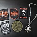 Marduk - Other Collectable - Marduk Patchs & silver pendant