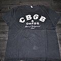 CBGB - TShirt or Longsleeve - CBGB  official buy in 2003 during a tsol show New York City