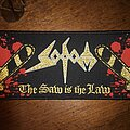Sodom - Patch - Sodom The Saw is the Law Strip Patch