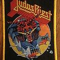 Judas Priest - Patch - Judas Priest Defenders of the Faith Yellow border patch